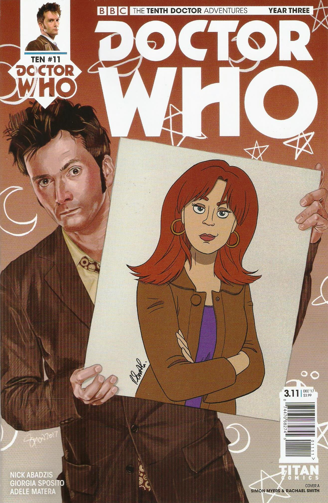 Tenth doctor year 3 issue 11a