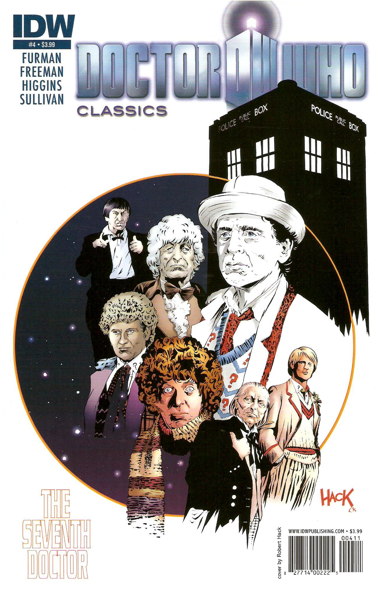 Classics seventh doctor 4