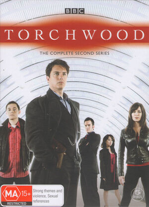 Torchwood complete second series australia dvd