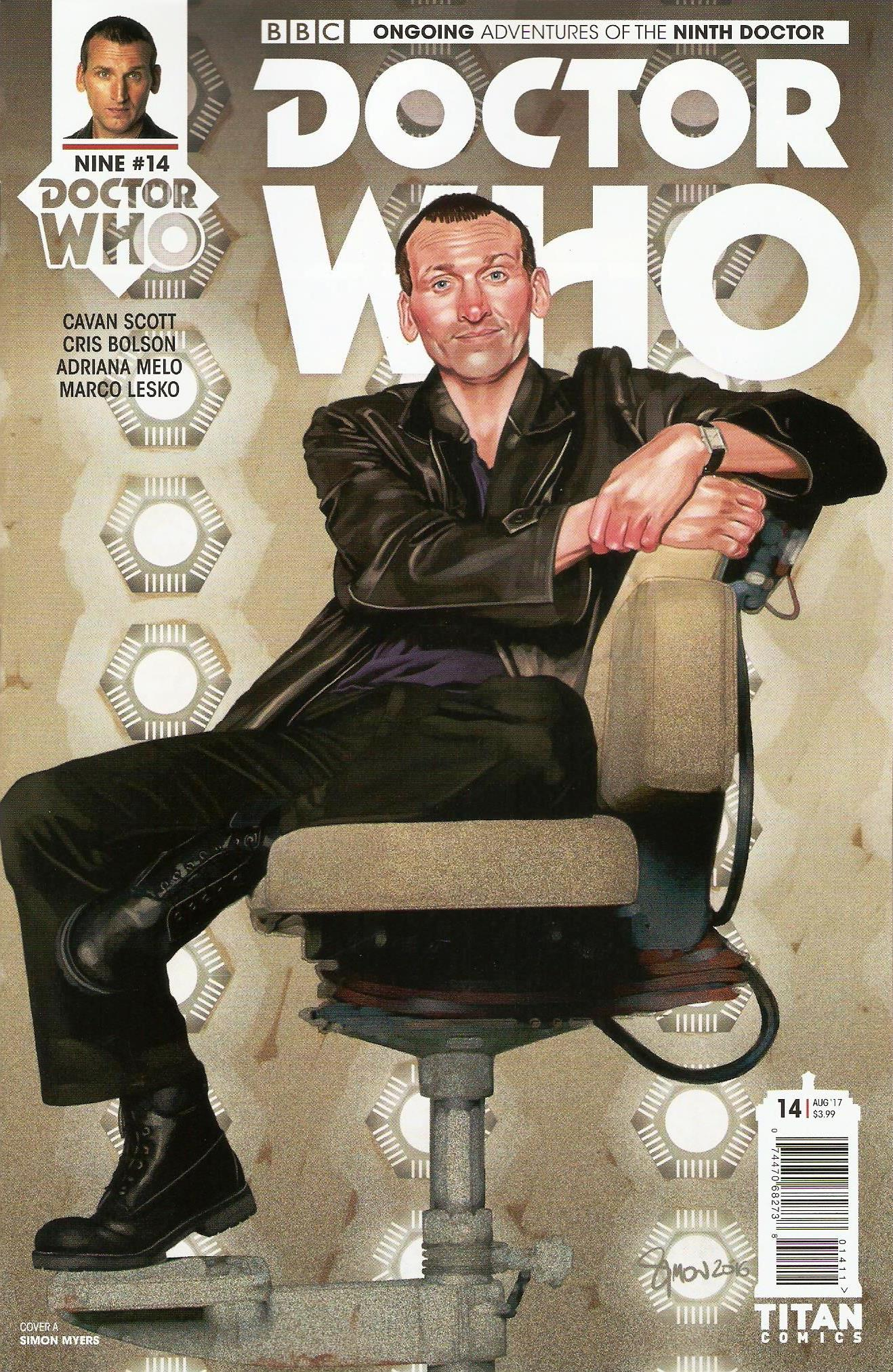 Ninth doctor ongoing issue 14a