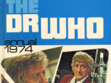 The Dr Who Annual 1974