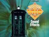 Doctor Who Sound Effects (CD)