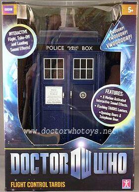 Flight Control TARDIS boxed