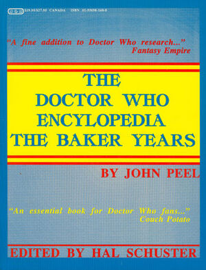 Doctor who encyclopedia baker years