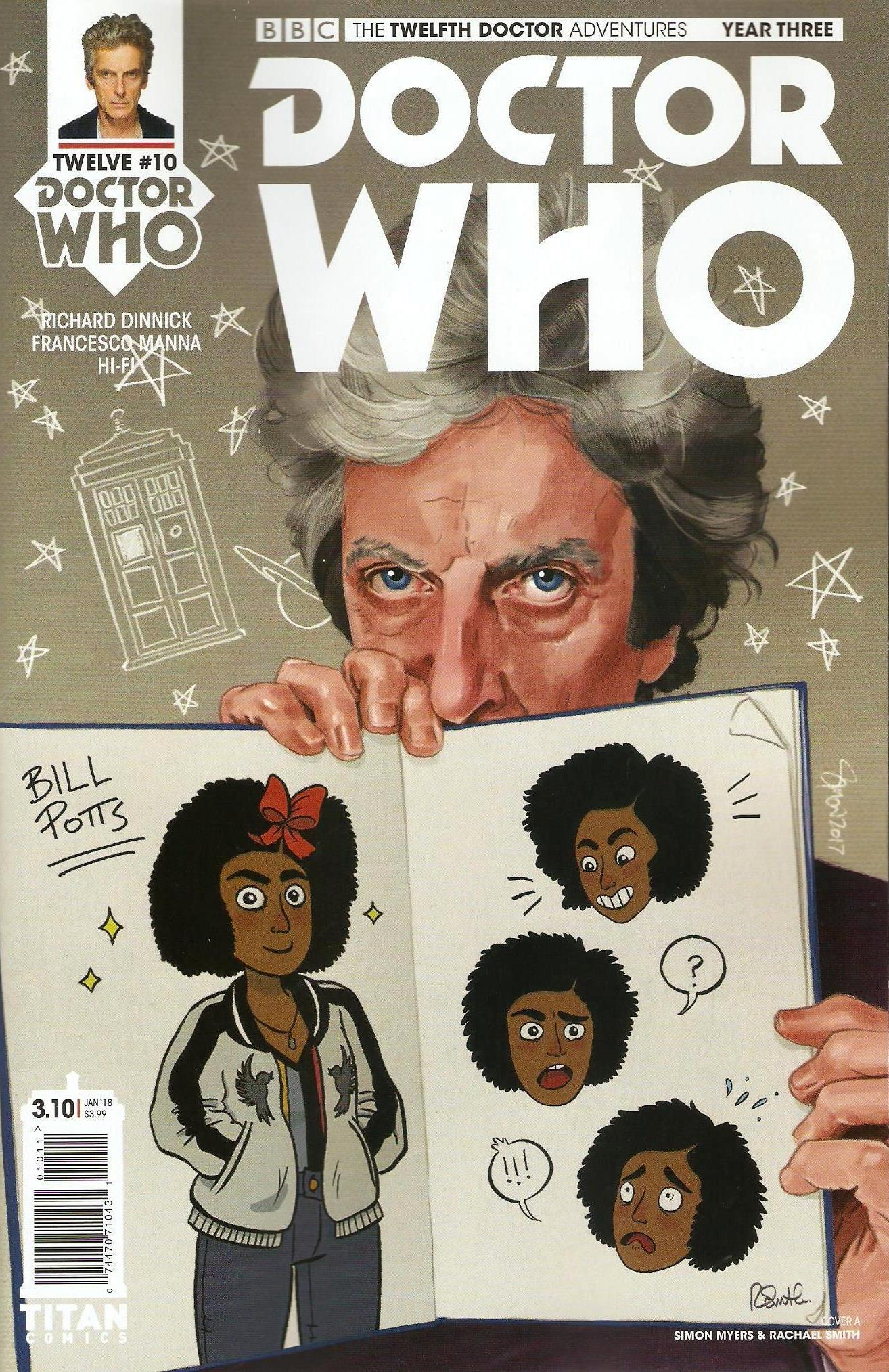 Twelfth doctor year 3 issue 10a