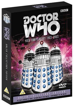 Dalek collectors edition uk dvd