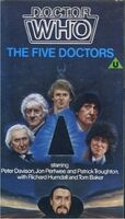Five doctors original uk vhs
