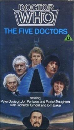Five doctors original uk vhs