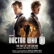 Day of the doctor time of the doctor music cd