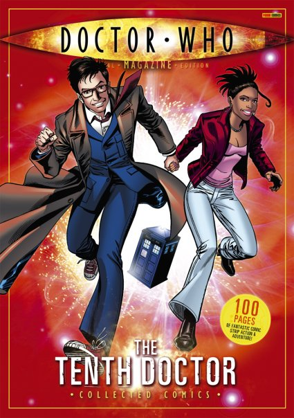 Dwm se tenth doctor collected comics