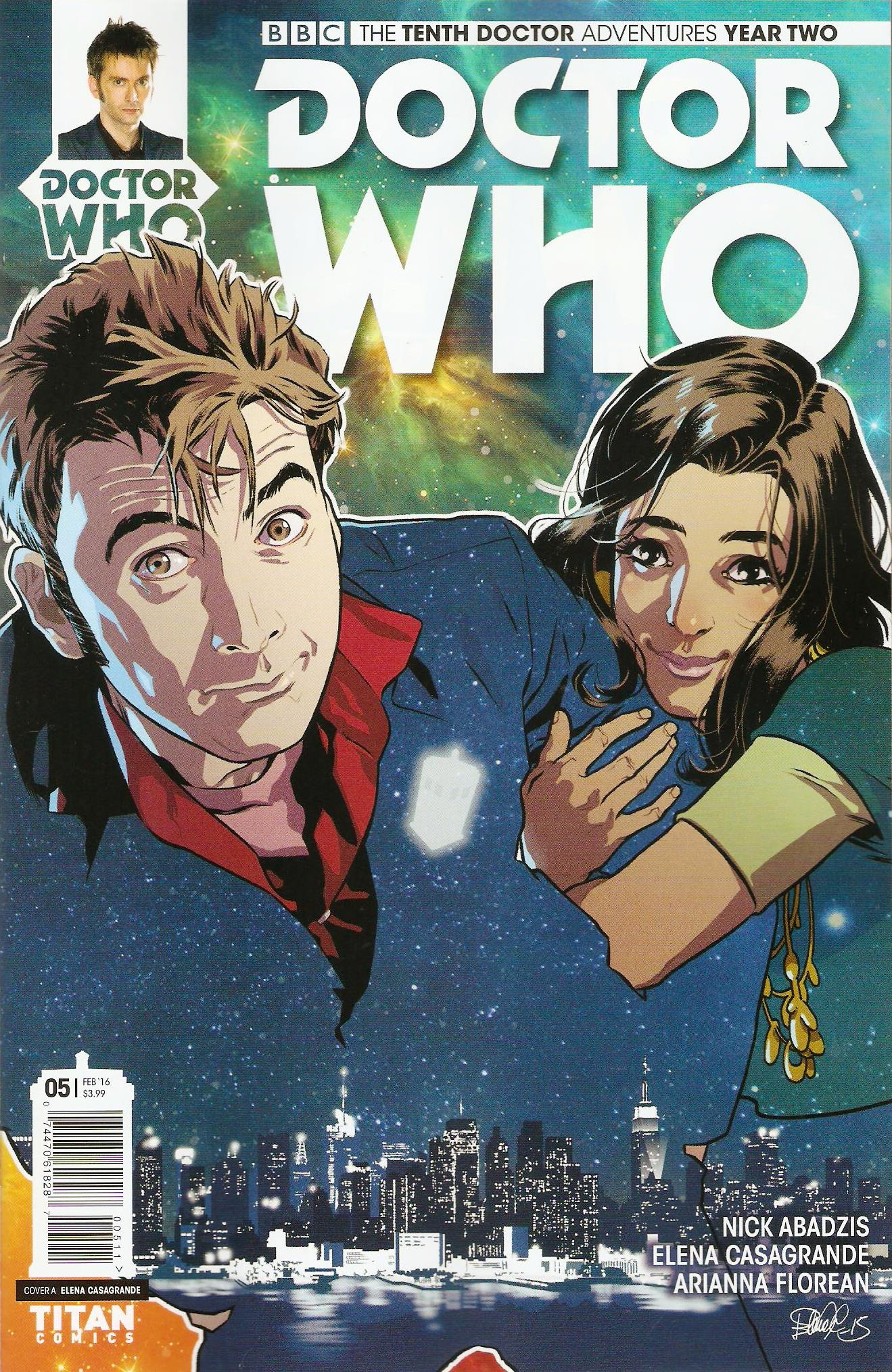 Tenth doctor year 2 issue 5a