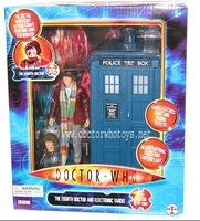 4th Doctor & TARDIS