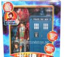 The Fourth Doctor & TARDIS (Planet of Evil)
