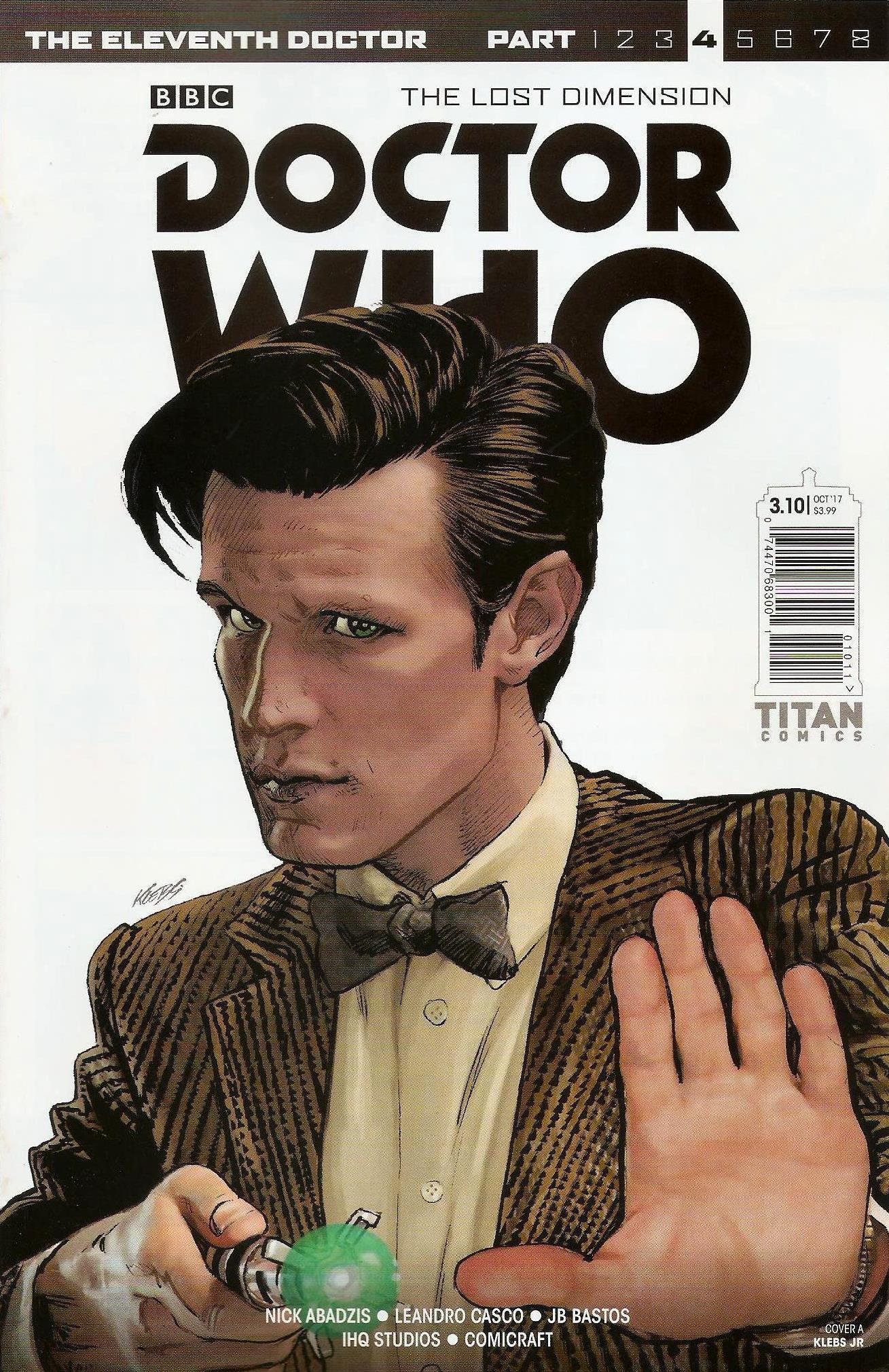 Eleventh doctor year 3 issue 10a