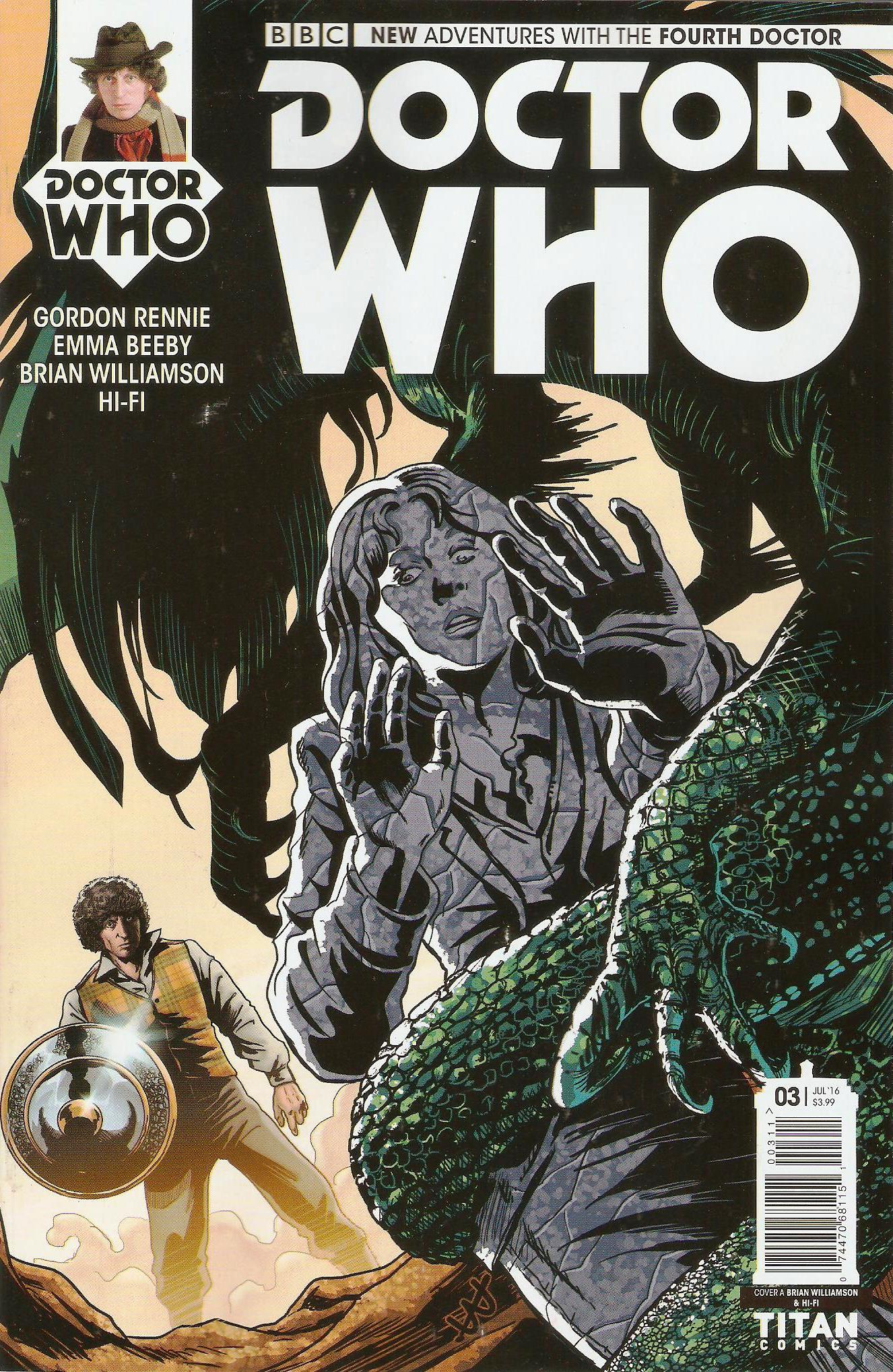 Fourth doctor issue 3a