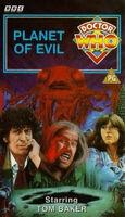 Planet of evil uk vhs