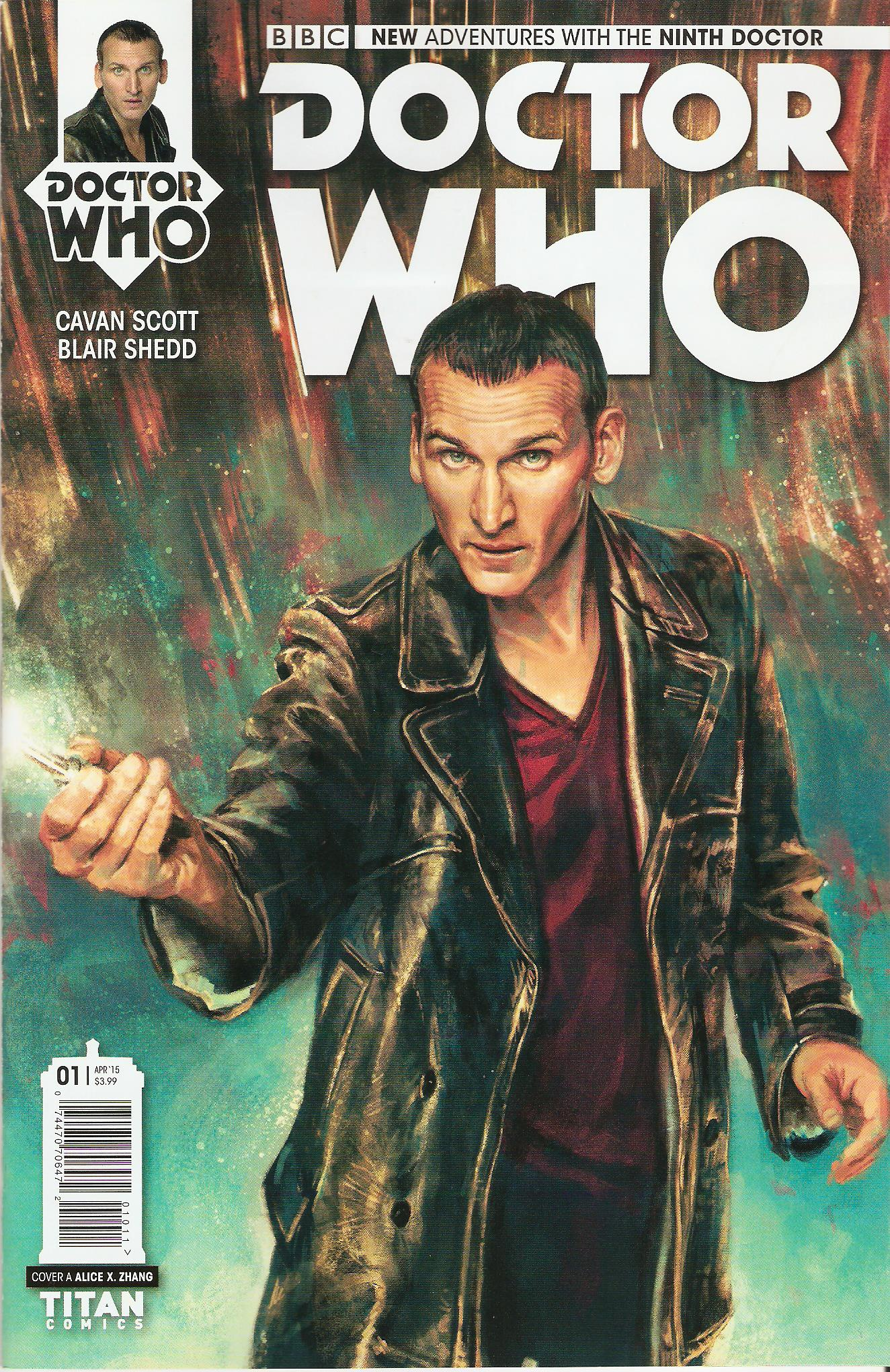 Ninth doctor issue 1a