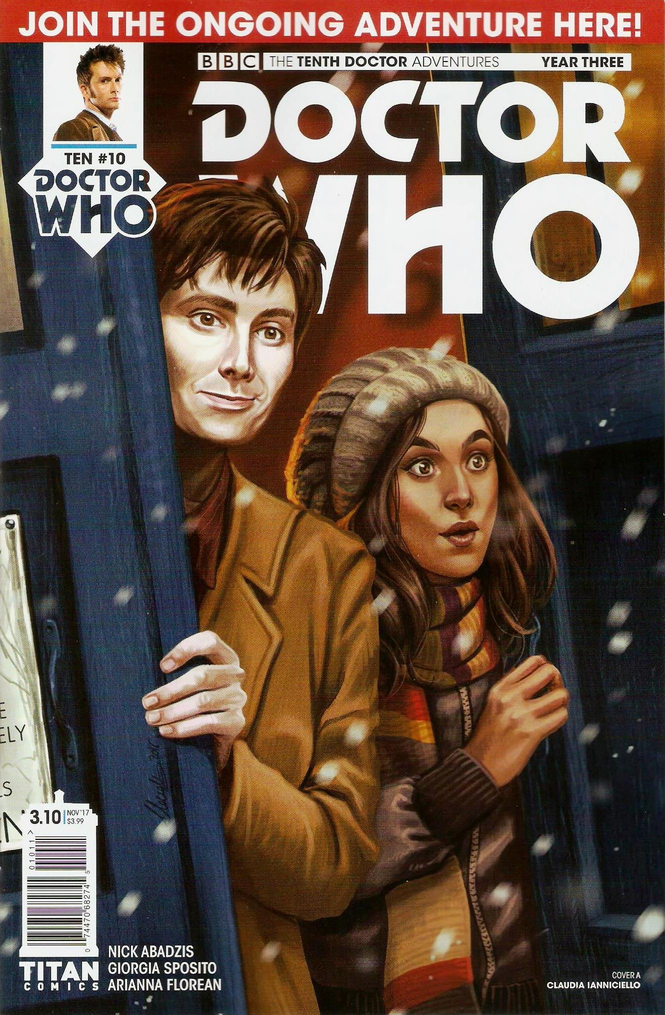 Tenth doctor year 3 issue 10a