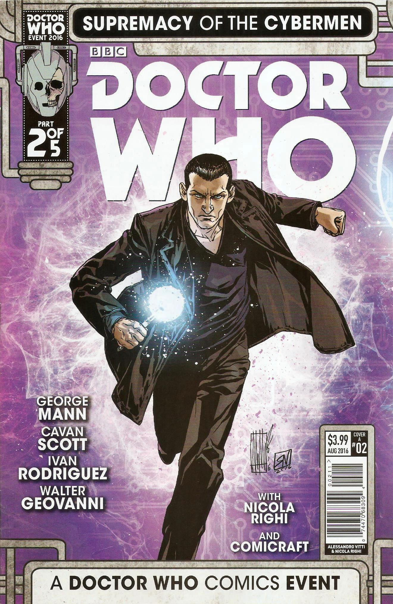 Supremacy of the cybermen issue 2a