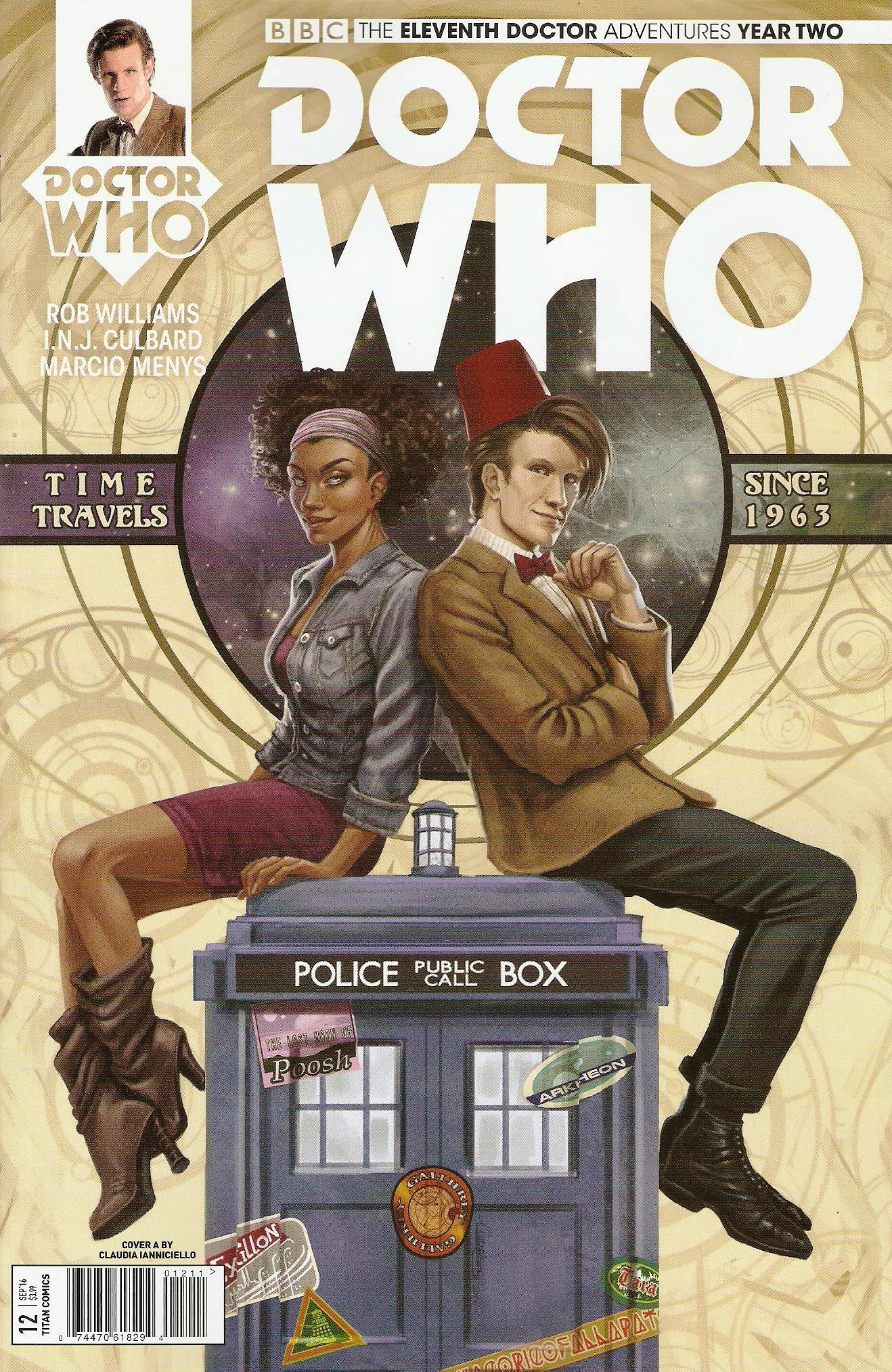 Eleventh doctor year 2 issue 12a