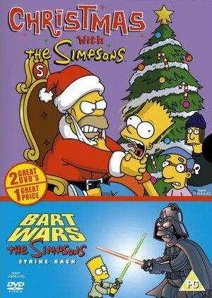 Simpsons christmas with the simpsons bart wars simpsons strike back uk dvd