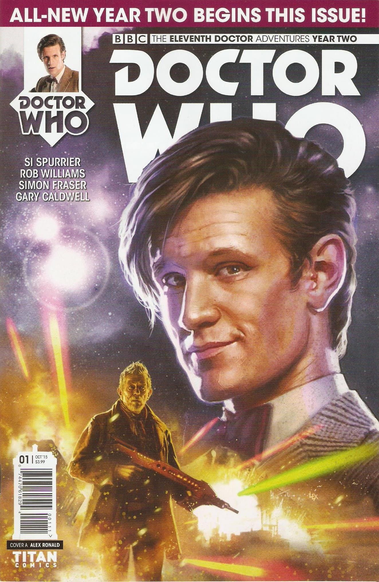Eleventh doctor year 2 issue 1a