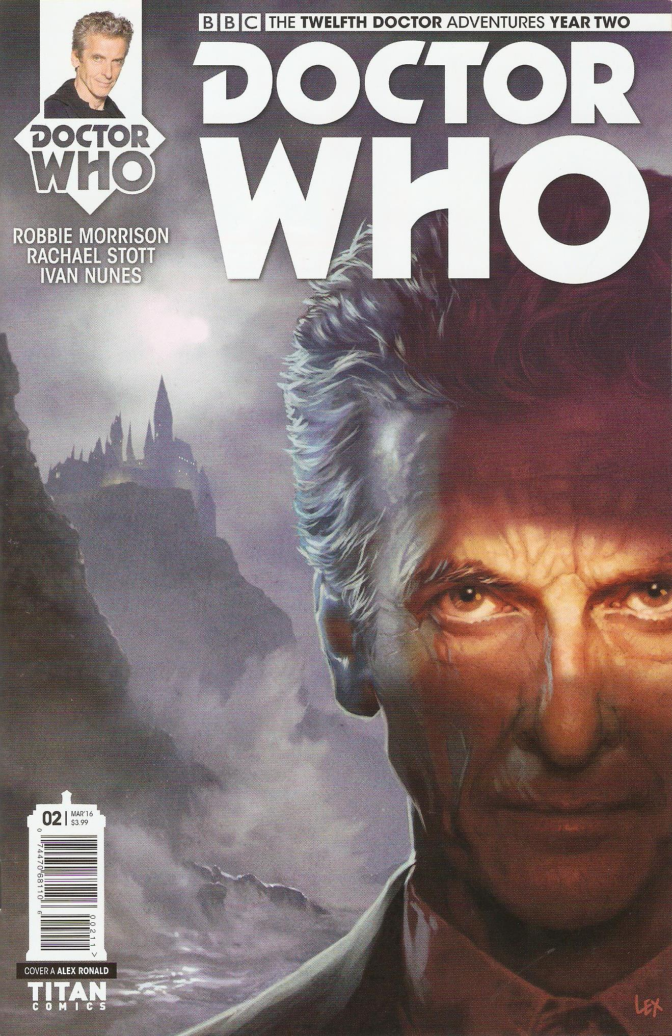 Twelfth doctor year 2 issue 2a