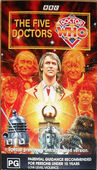 Five doctors rerelease australia vhs