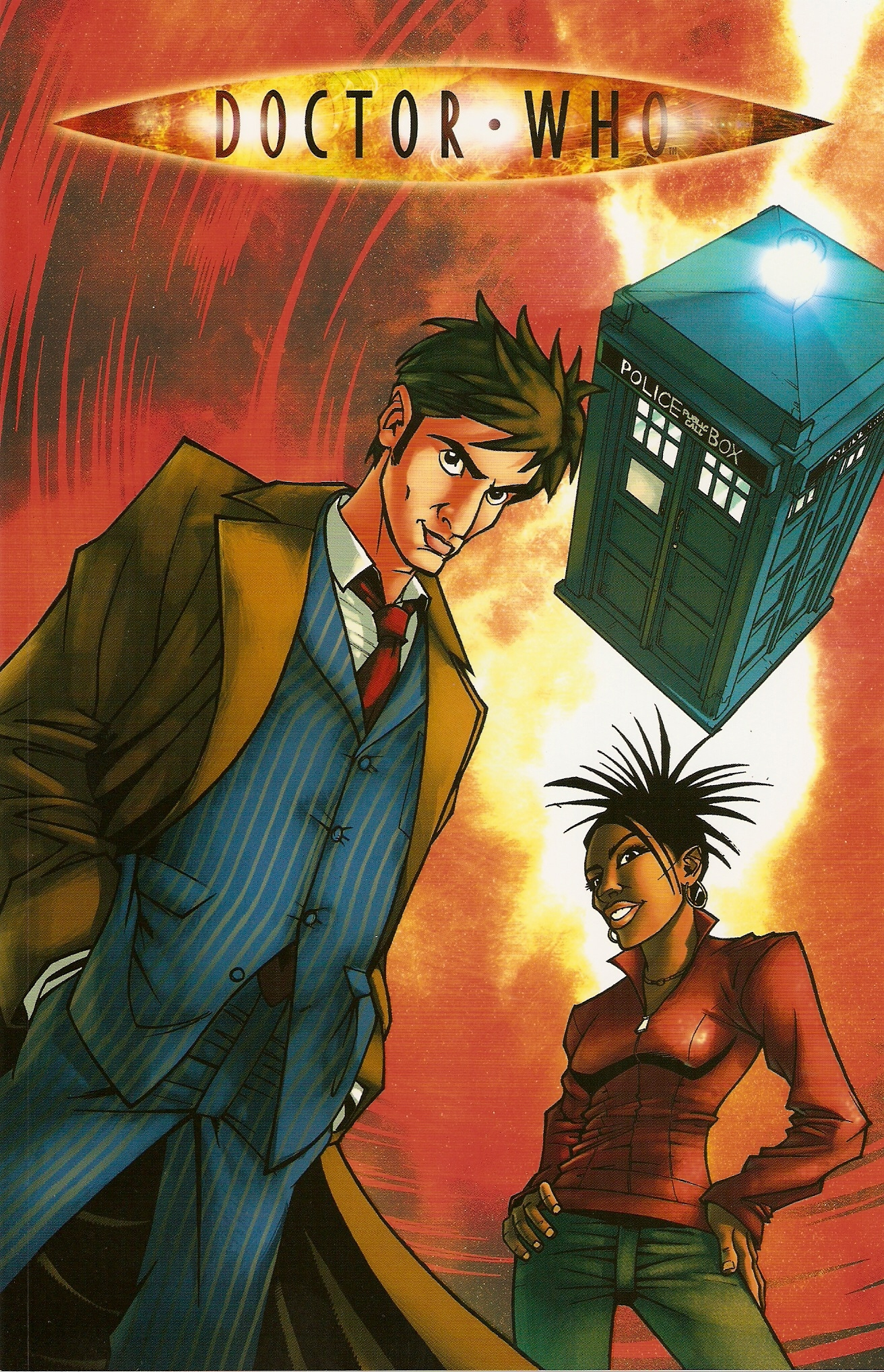 agent provocateur: idw graphic novel | doctor who collectors wiki