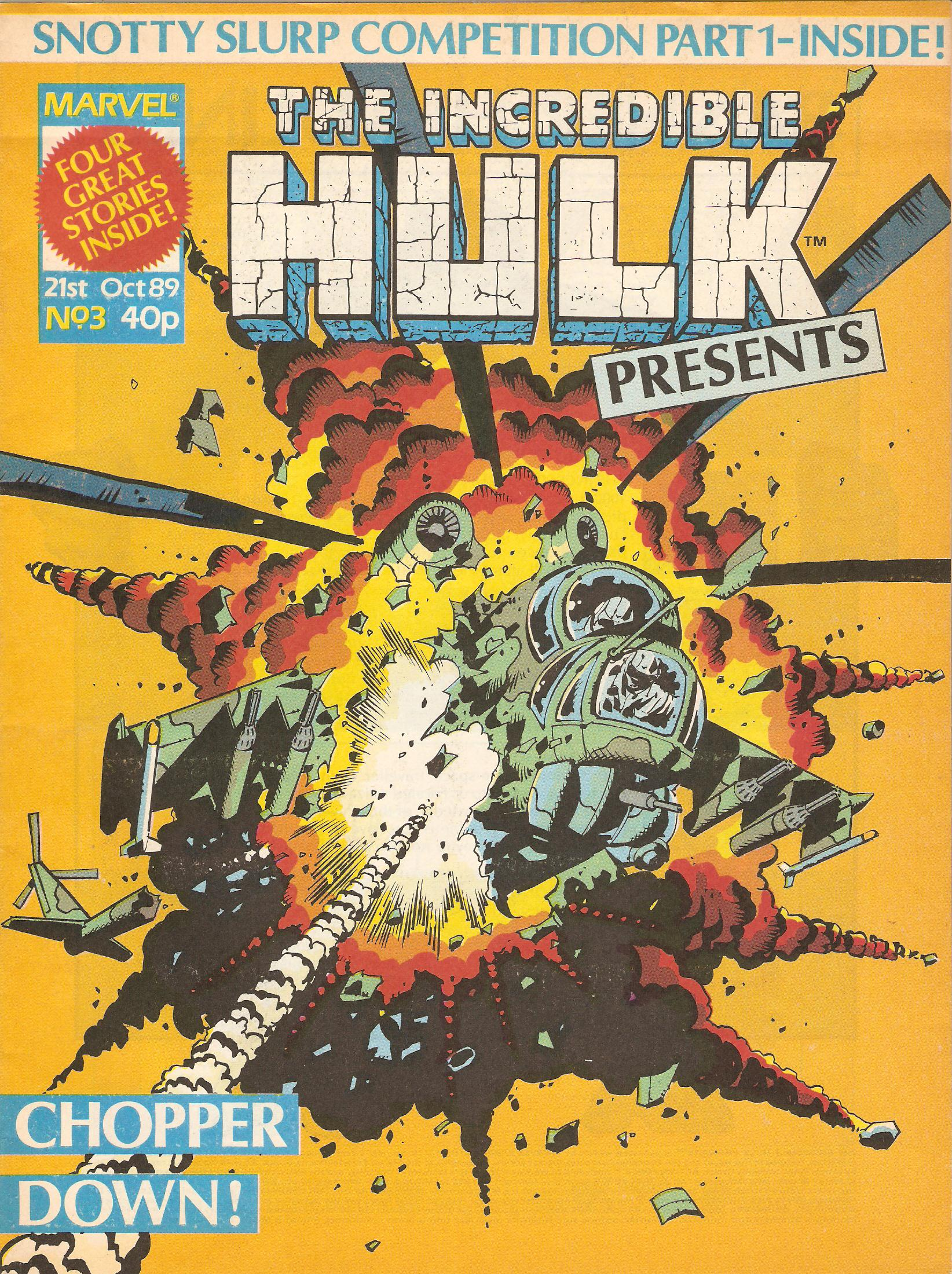 Incredible hulk presents 3
