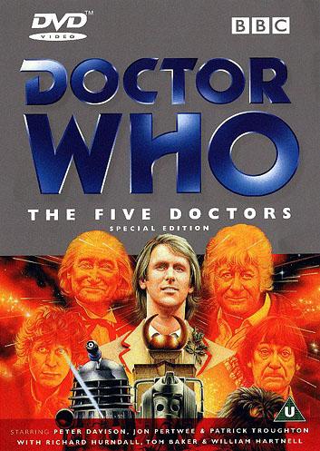 Five doctors special edition uk dvd