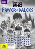 Power of the daleks australia black and white dvd