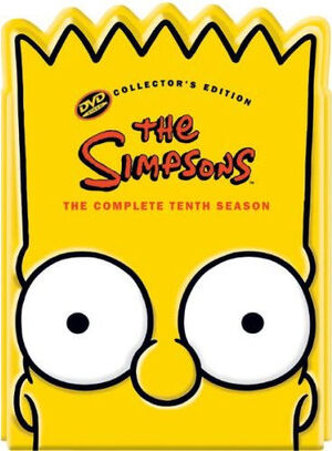 Simpsons complete tenth season collectors edition us dvd
