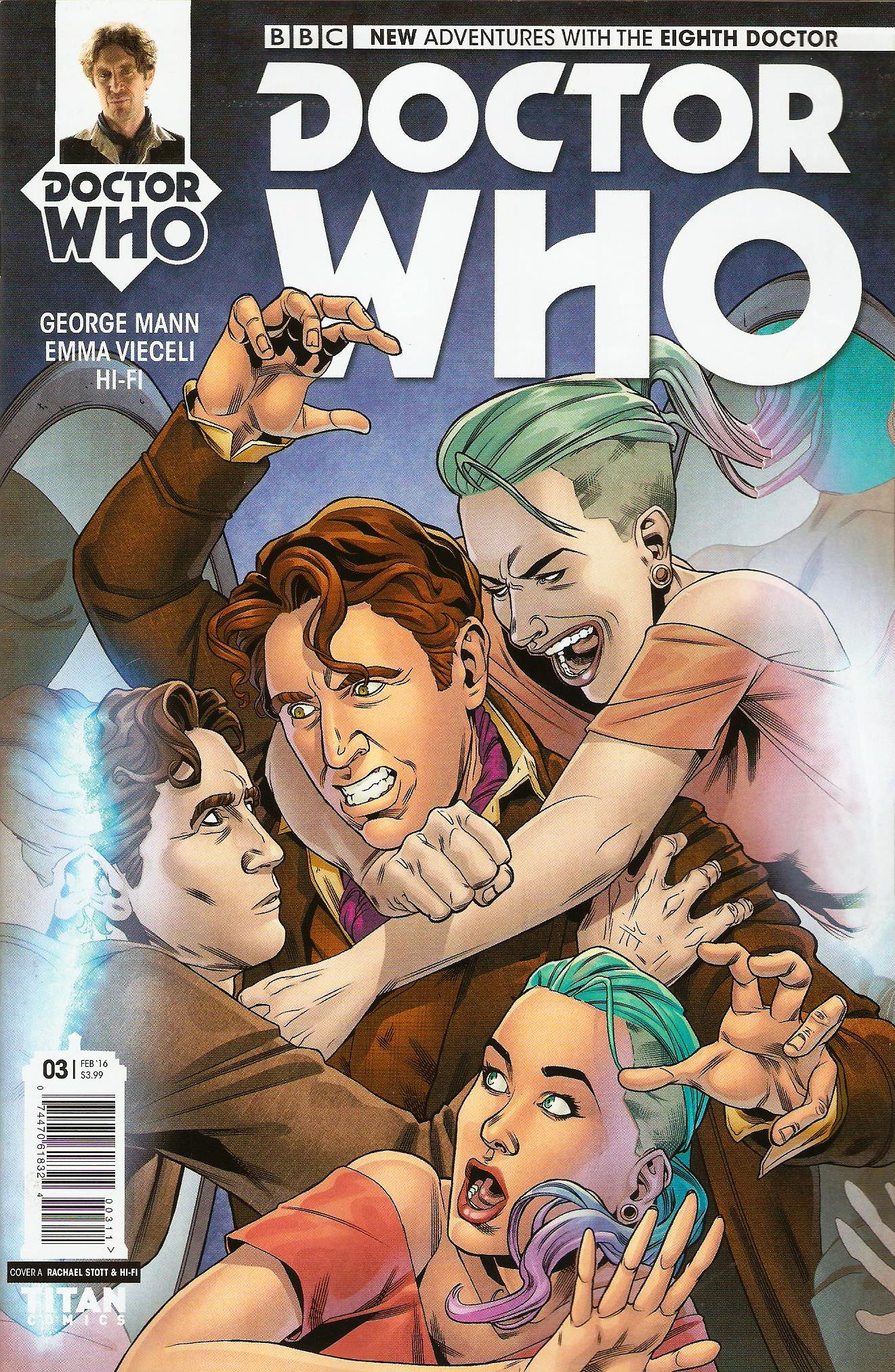 Eighth doctor issue 3a