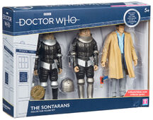 The sontarans collector figure set