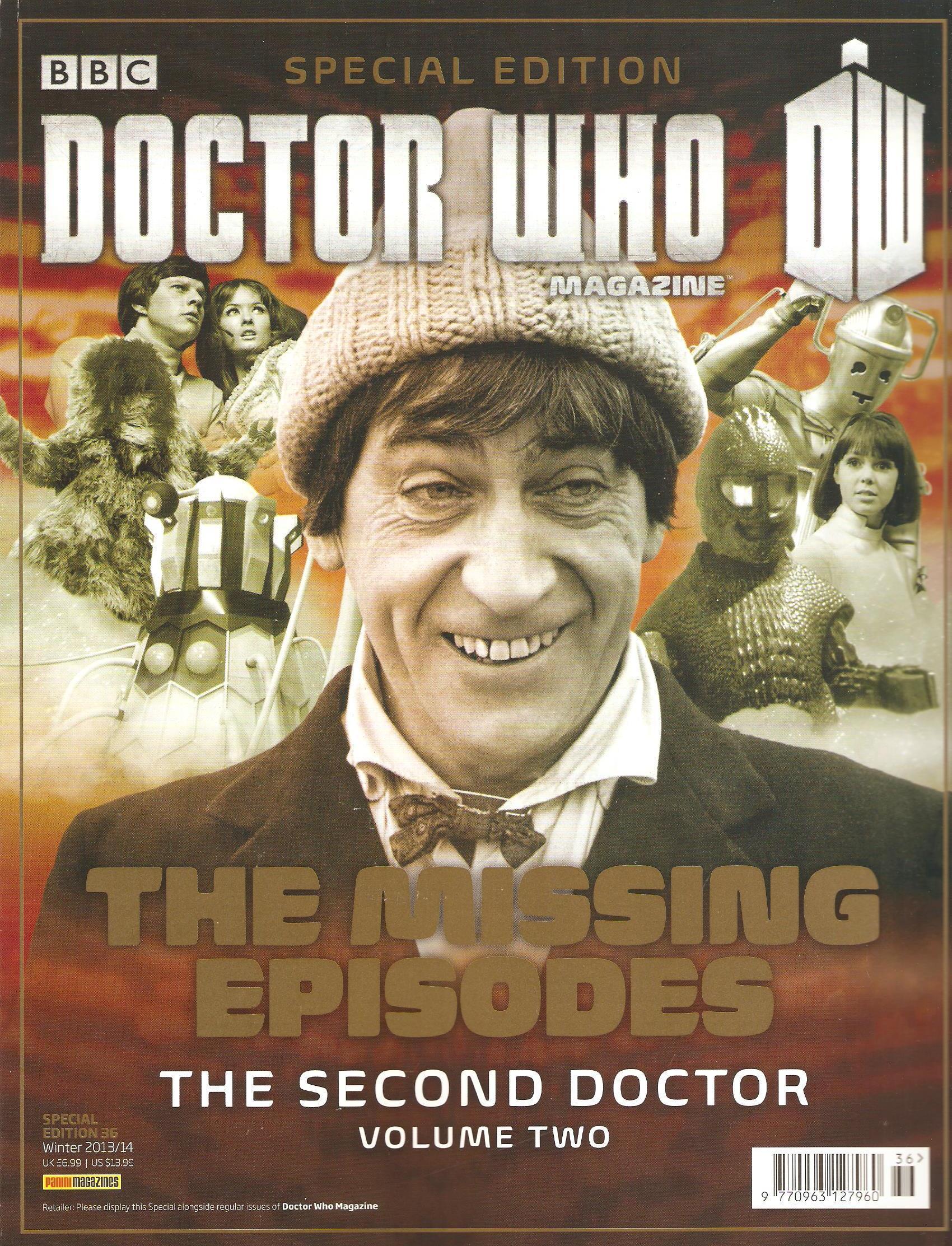 Dwm se missing episodes second doctor volume two