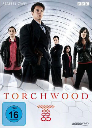 Torchwood complete second series germany dvd