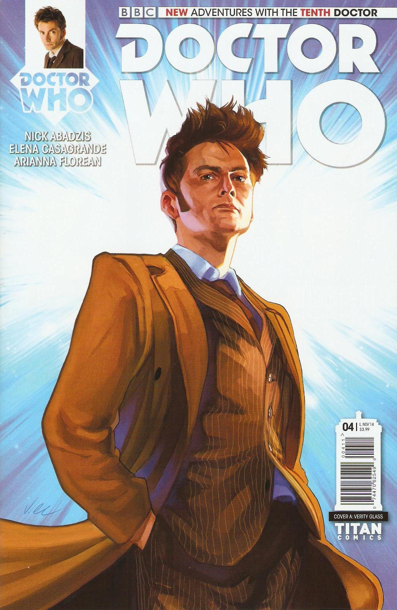 Tenth doctor issue 4a