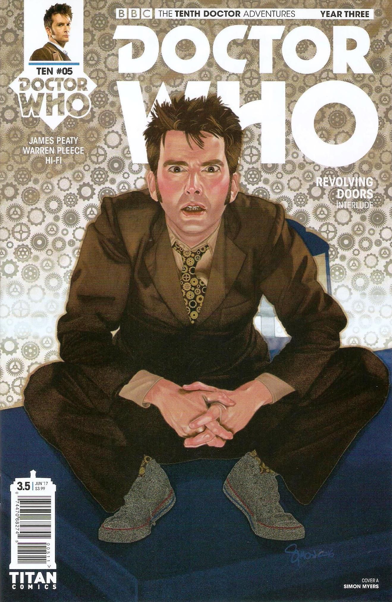 Tenth doctor year 3 issue 5a