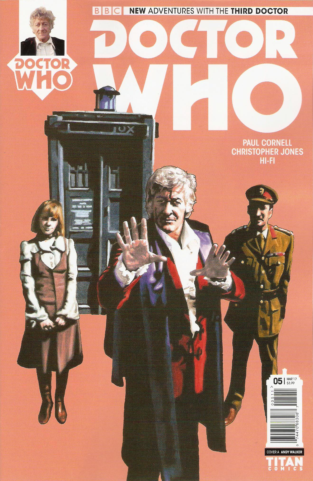 Third doctor issue 5a
