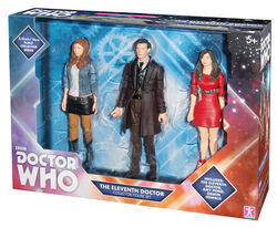 Eleventh doctor collector figure set