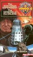 Sontaran experiment genesis of the daleks uk vhs