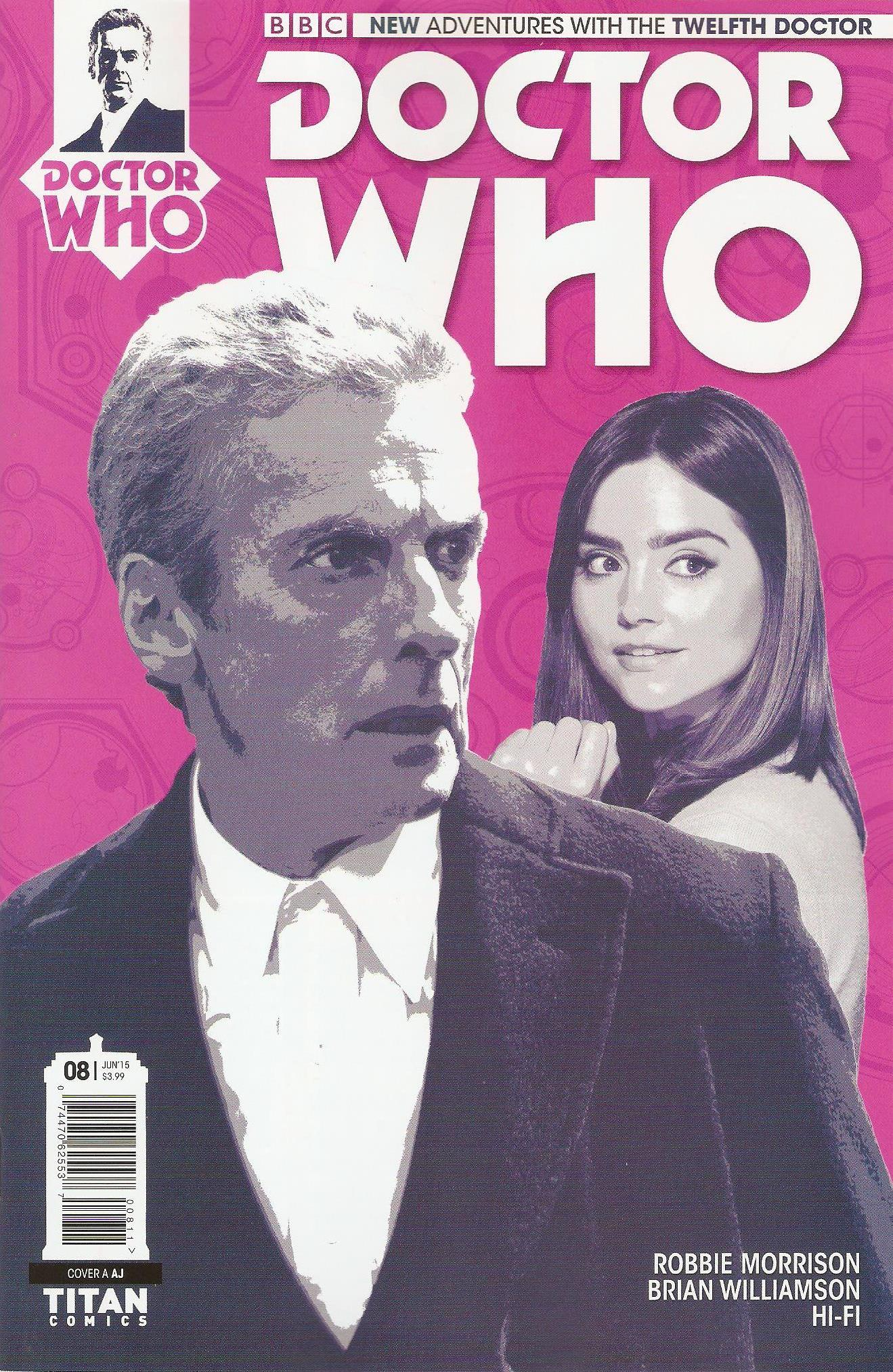 Twelfth doctor issue 8a