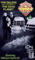 Daleks part 1 uk vhs