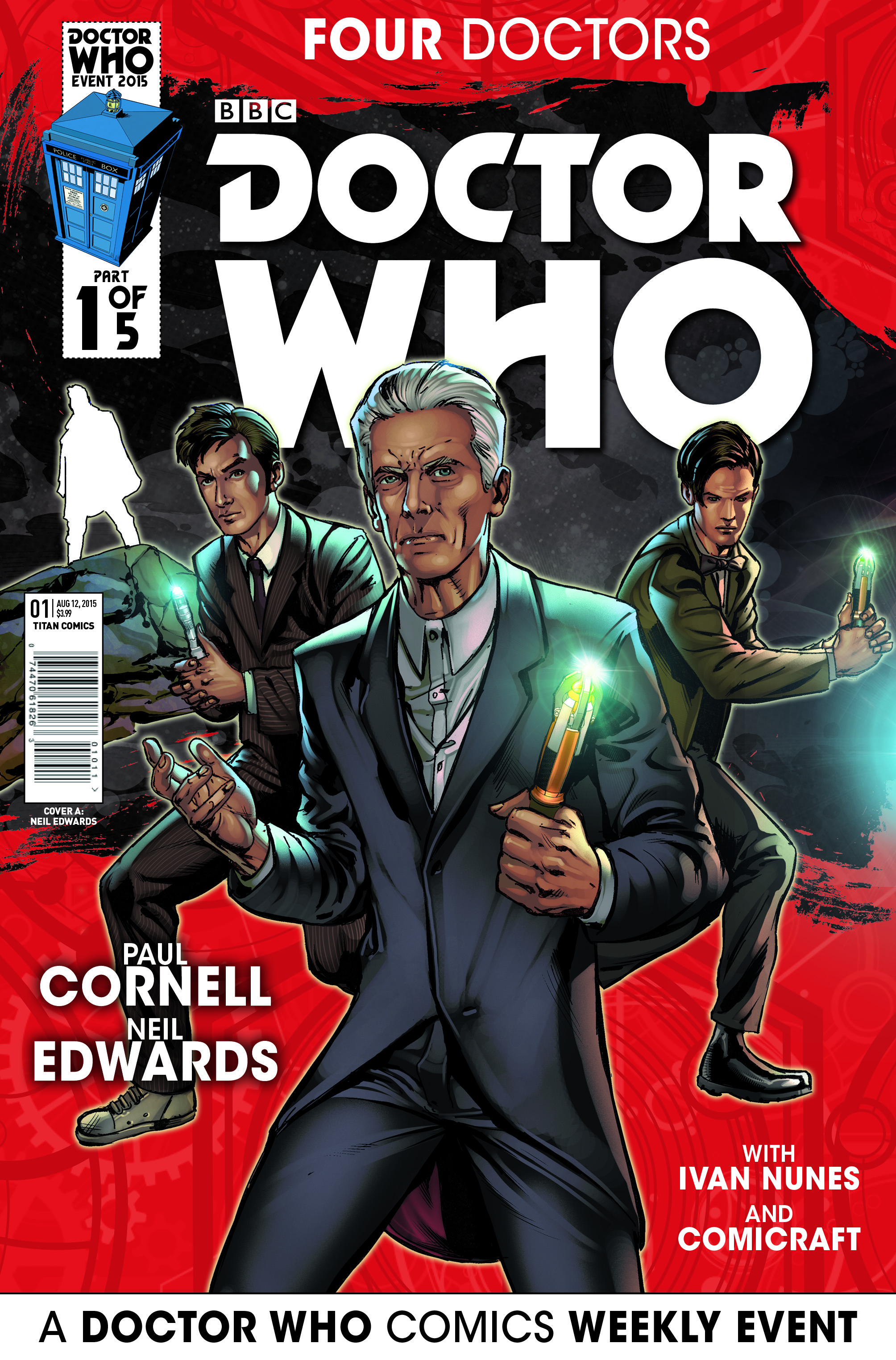 Four doctors issue 1a