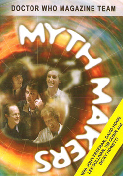 Myth makers doctor who magazine team dvd