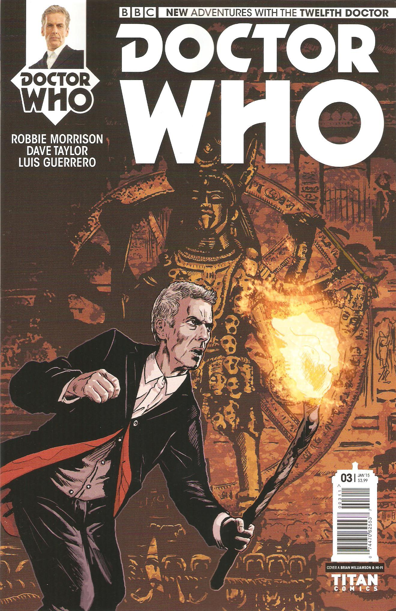 Twelfth doctor issue 3a