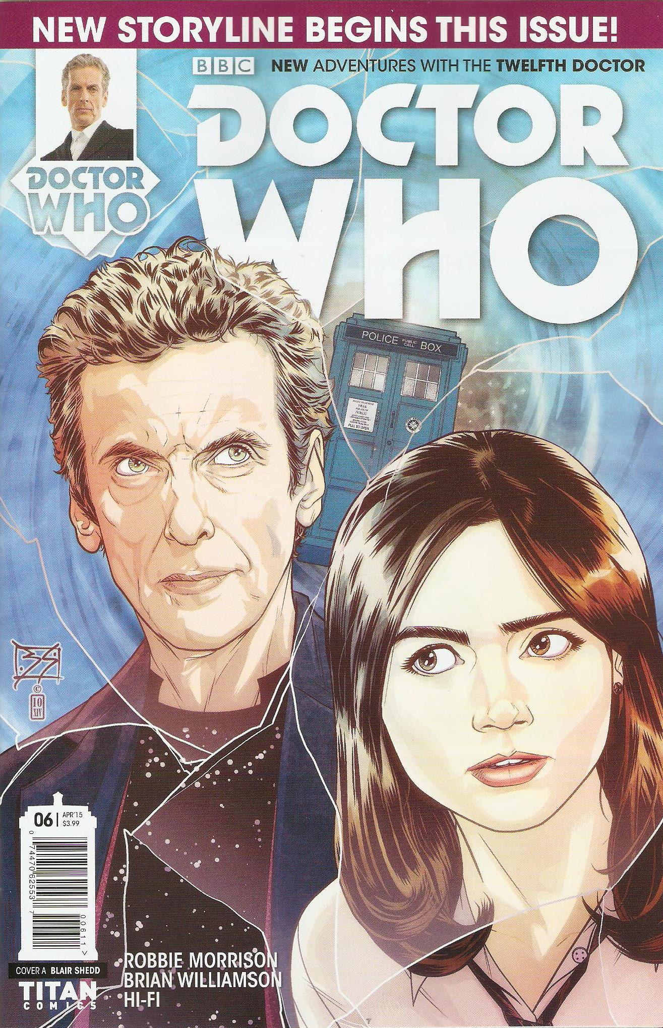 Twelfth doctor issue 6a