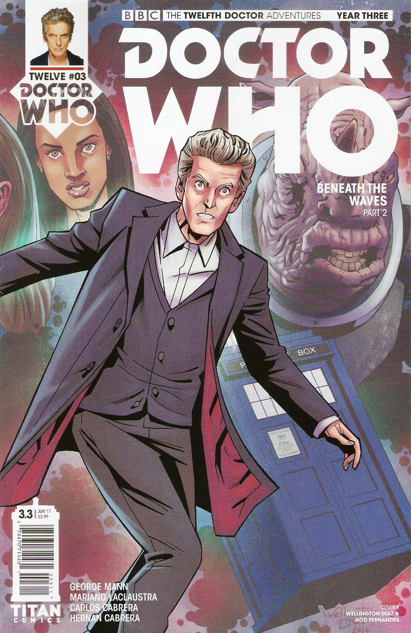 Twelfth doctor year 3 issue 3a