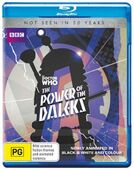 Power of the daleks australia bd